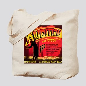 Audition Horror Movie Tote Bag