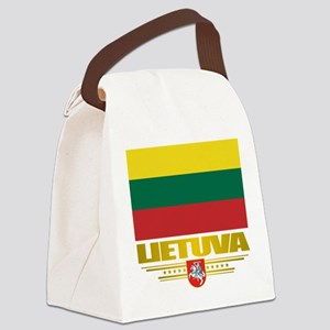 Lithuania (Flag 10)2 Canvas Lunch Bag