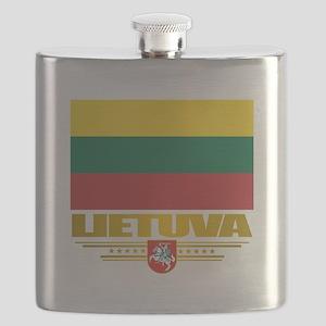 Lithuania (Flag 10)2 Flask