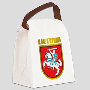 Lithuania COA 2 Canvas Lunch Bag