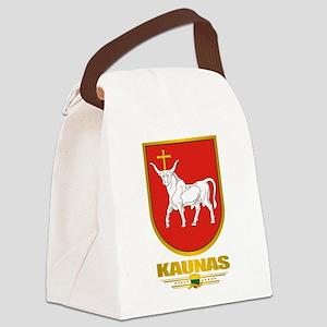 Kaunas COA (Flag 10)2 Canvas Lunch Bag
