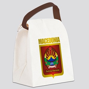 Macedonian Gold Canvas Lunch Bag