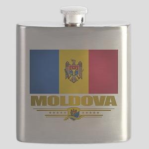 Moldova (Flag 10) 2 Flask