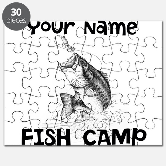 Personlize Fish Camp Puzzle