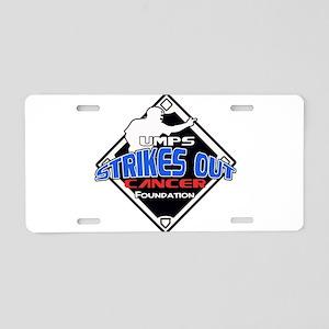 UMPS Cancer Logo Aluminum License Plate