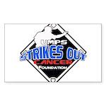 UMPS Cancer Logo Sticker (Rectangle)