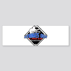 UMPS Cancer Logo Sticker (Bumper)