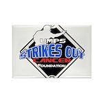 UMPS Cancer Logo Rectangle Magnet