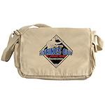 UMPS Cancer Logo Messenger Bag