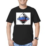 UMPS Cancer Logo Men's Fitted T-Shirt (dark)