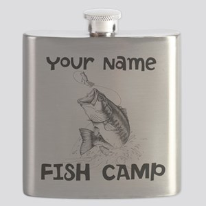 Personlize Fish Camp Flask