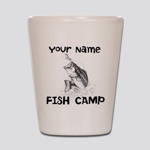 Personlize Fish Camp Shot Glass