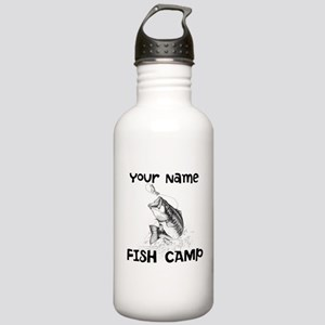 Personlize Fish Camp Stainless Water Bottle 1.0L