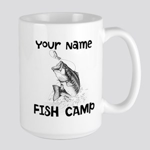Personlize Fish Camp Large Mug