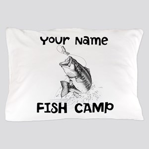 Personlize Fish Camp Pillow Case