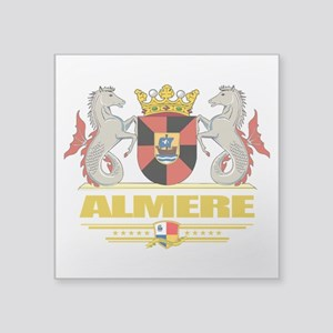 """Almere (Flag 10) Square Sticker 3"""" x 3"""""""