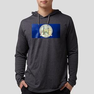 New York Quarter 2001 Mens Hooded Shirt