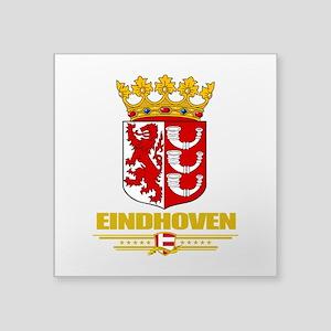 """Eindhoven (Flag 10) Square Sticker 3"""" x 3"""""""