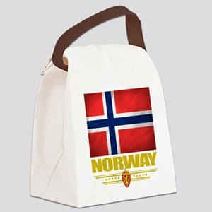 Norway2 (Flag 10) Canvas Lunch Bag