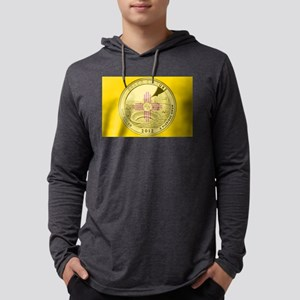 New Mexico Quarter 2012 Mens Hooded Shirt