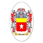 Annetts Sticker (Oval 50 pk)
