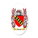 Ansell Oval Car Magnet