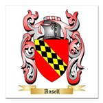 Ansell Square Car Magnet 3