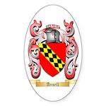 Ansell Sticker (Oval 10 pk)