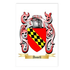 Ansell Postcards (Package of 8)