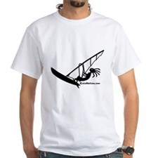 Kokopelli Windsurfer White T-Shirt