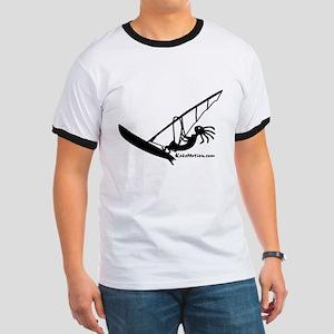 Kokopelli Windsurfer Ringer T