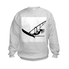 Kokopelli Windsurfer Kids Sweatshirt