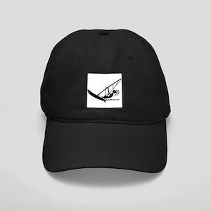 Kokopelli Windsurfer Black Cap