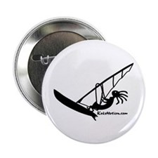 Kokopelli Windsurfer Button