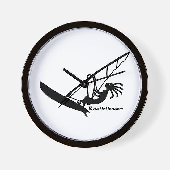 Kokopelli Windsurfer Wall Clock