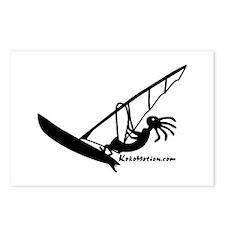 Kokopelli Windsurfer Postcards (Package of 8)