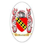 Anselme Sticker (Oval 50 pk)