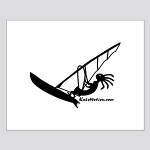 Kokopelli Windsurfer Small Poster