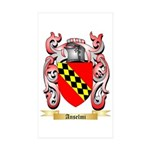 Anselmi Sticker (Rectangle 50 pk)