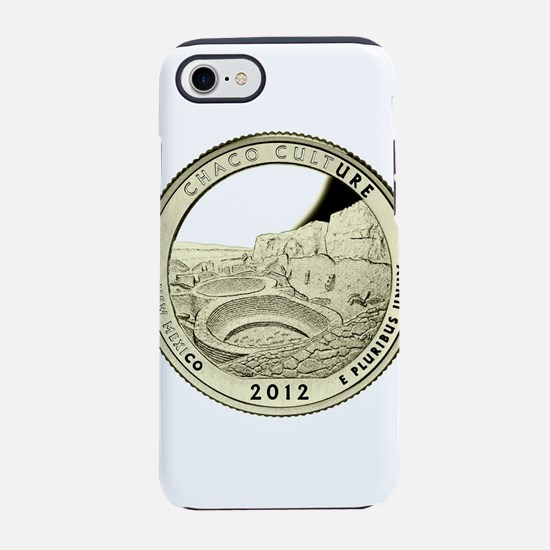 New Mexico Quarter 2012 Basic iPhone 7 Tough Case