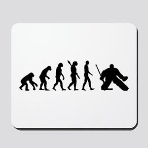 Evolution hockey goalie Mousepad