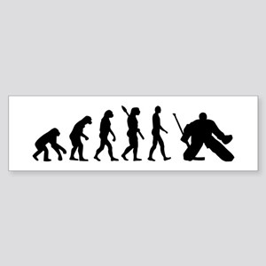 Evolution hockey goalie Sticker (Bumper)