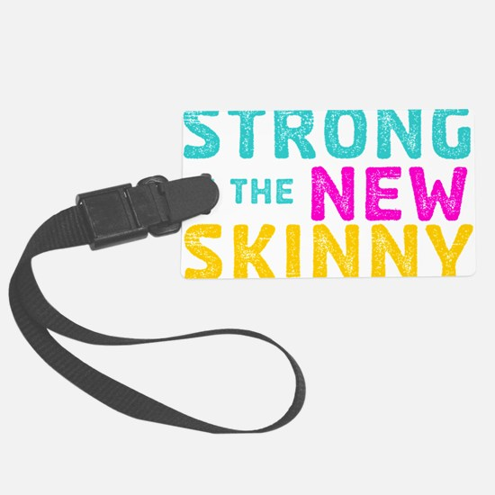 Strong is the New Skinny - Sketch Teal-Pink-Orange