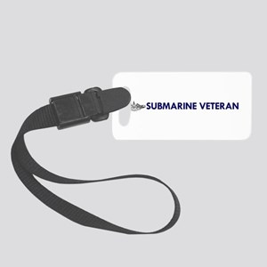 Submarine Veteran Dolphins Small Luggage Tag