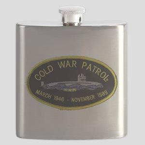 Cold War Patrol Patch Flask