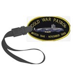 Cold War Patrol Patch Large Luggage Tag