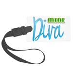 Mini Diva Large Luggage Tag