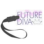 Future Diva Large Luggage Tag