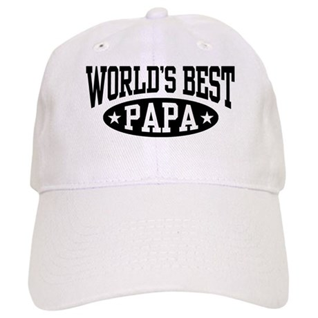 World's Best Papa Cap
