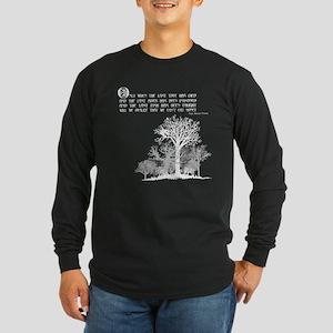 Native American Proverb Long Sleeve T-Shirt
